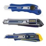 Ножи с отламывающимися сегментами IRWIN