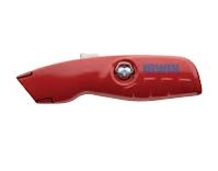 Нож с автоматически убирающимся лезвием IRWIN